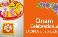 Onam Celebration at DCSMAT, Trivandrum on 31.8.2017