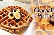 Healthy Chocochip Waffles
