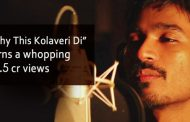 Dhanush's Why This Kolaveri Di crossed12.5 cr views on YouTube