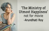 Arundhati Roy said her book will not be made into a movie
