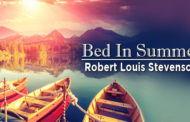 Bed In Summer by Robert Louis Stevenson