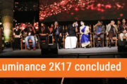 Luminance 2K17 concluded on 14th October