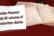 This Indian museum has 89 volumes of handwritten diaries