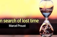 In search of lost time by Marcel Proust