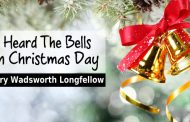 I Heard The Bells On Christmas Day by Henry Wadsworth Longfellow