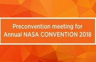 The Preconvention meeting for Annual NASA CONVENTION 2018 to be held on 28th Jan
