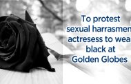 The Red Carpet to be all-black at the 2018 Golden Globe Awards as a sign of protest