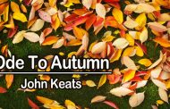 Ode To Autumn by John Keats