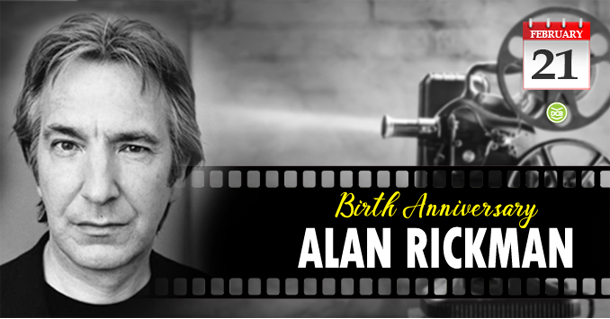 Birth Anniversary of Alan Rickman