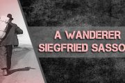 A Wanderer by Siegfried Sassoon