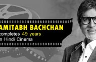 Amitabh Bachchan completes 49 years in Hindi Cinema