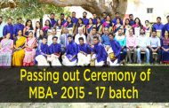 Passing Out Ceremony of MBA 15-17
