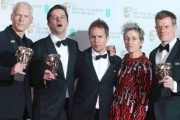 Three Billboards dominates BAFTA Awards 2018