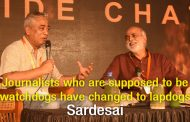 We have a  first rate constitution run  by third rate people –Rajdeep Sardesai