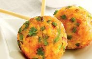 Corn-Spinach Rice Balls