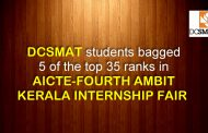5 OF THE TOP 35 RANKS IN AICTE-FOURTH AMBIT KERALA INTERNSHIP FAIR