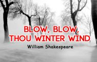 Blow, Blow, Thou Winter Wind by William Shakespeare