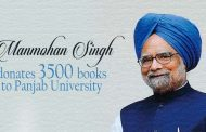 Panjab University gets a donation of 3,500 books from Man Mohan Singh