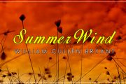 Summer Wind by William Cullen Bryant