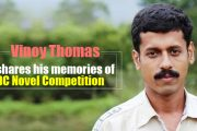 Vinoy Thomas on winning DC Literary Award