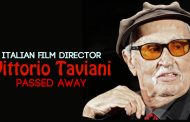 The Italian film director Vittorio Taviani passed away