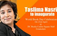 Taslima Nasrin to inaugurate one month long World Book Day Celebration
