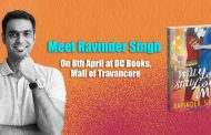 Ravinder Singh arrives at DC Books