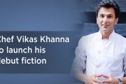 Chef Vikas Khanna launches his debut fiction