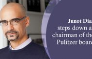 Junot Diaz steps down as chairman of the Pulitzer board
