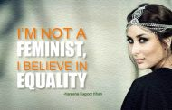 Kareena Kapoor Khan believes in equality