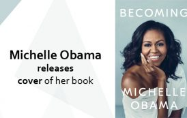 Michelle Obama releases cover of her book