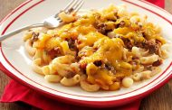 Minced Meat and Macaroni Bake
