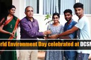 DCSMAT celebrates World Environment Day