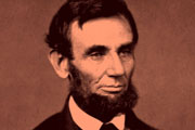 """Folks are usually about as happy as they make their minds up to be.""  -Abraham Lincoln"