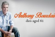 Celebrity chef Anthony Bourdain dies in an apparent suicide