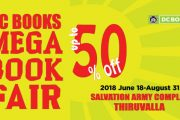 DC Books Mega Book Fair starts at Thiruvalla