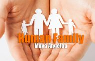 Human Family by Maya Angelou