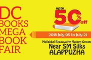 DC Books Mega Book Fair starts at Alappuzha