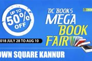 DC Books Mega Book Fair at Kannur