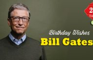Birthday Wishes to Bill Gates