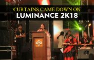 Curtains came down on Luminance 2K18