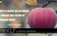 """Quality is never an accident. It is always the result of intelligent effort"""