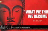 """What we think, we become""- BUDDHA"