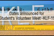 Students' Volunteer Meet On 26th November-KLF19