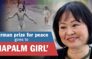Kim Phuc from the legendary Vietnam war pic awarded German prize for peace work
