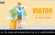 Word of the day: Viator