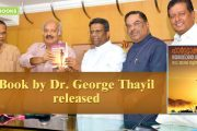 Sethu launches the book by Dr. George Thayil