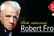 Birth Anniversary of Robert Frost