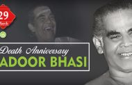 Death Anniversary of Adoor Bhasi