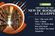 Opening of the New DC Book Shop at Alleppy